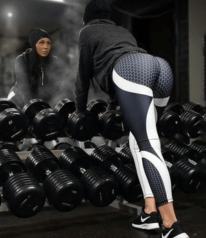 Honeycomb Compression Leggings