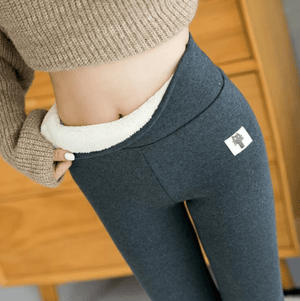 Warm Thickened Thermal Fleece Lined Winter Leggings