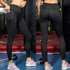 Compression Leggings with Pockets