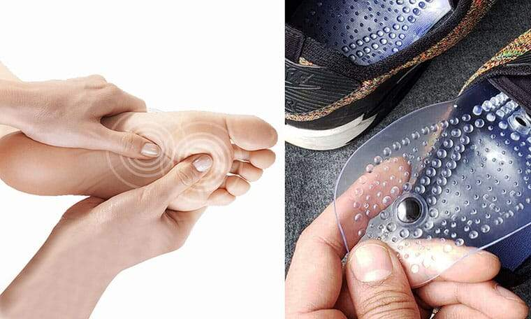 Acupressure Magnetic Shoe Insoles