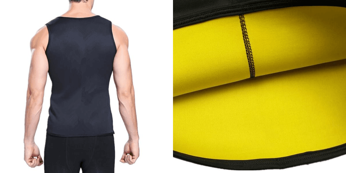 Sweat Sauna Neoprene Body Shaper Shirt