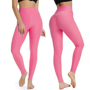 Anti Cellulite High Waisted Textured Compression Leggings