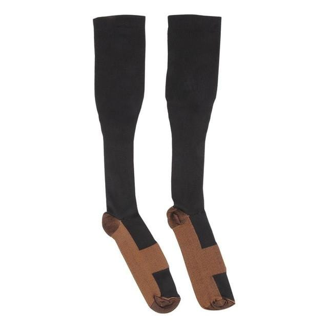 Black Copper Compression Socks are infused with real copper. Making it the best copper compression socks in the market.
