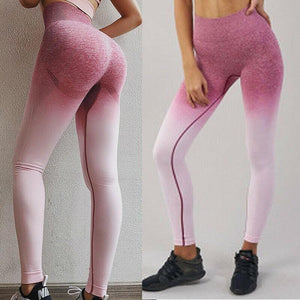 Multicolor Anti-Cellulite Energy Compression Yoga Wear