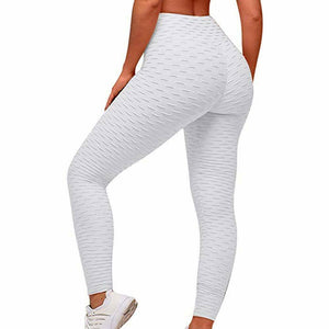 Gray Anti Cellulite Leggings