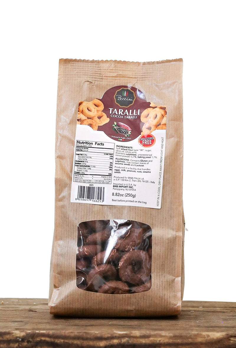 Taralli with Cocoa - Bossini