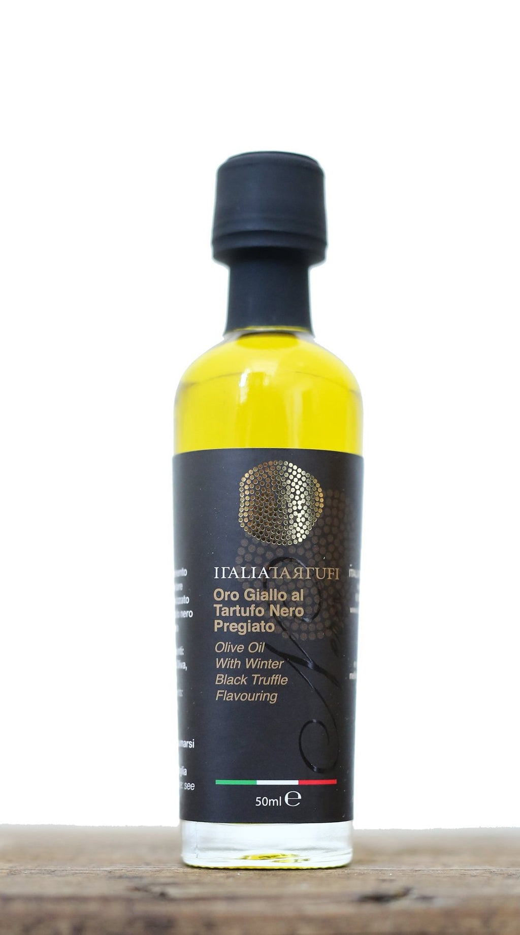 Black Truffle Olive Oil 50 ml - Italia Tartufi