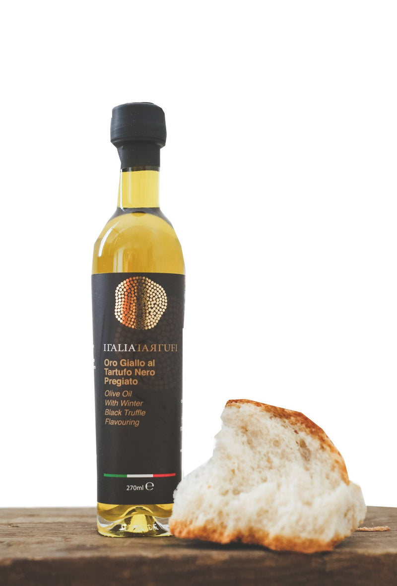 Black Truffle Olive Oil 270 ml - Italia Tartufi
