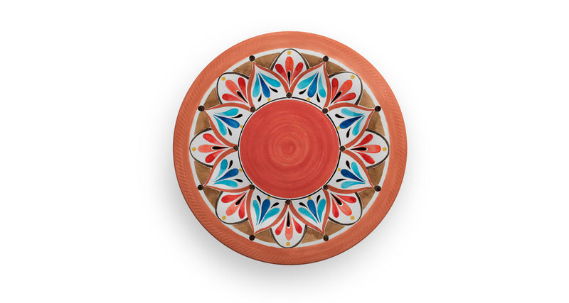 Melamine Dinner Plate Madrid 2 PCS