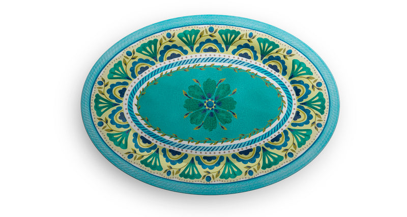 Melamine Oval Tray London