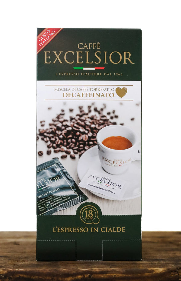 Dispenser 18 pods Decaffeinated Coffee - Excelsior