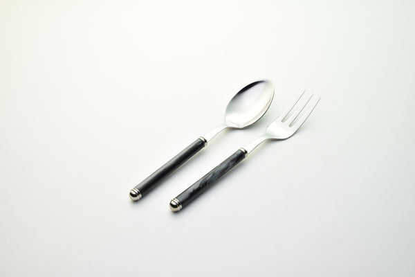 2 Pcs Serving Set Linea Black