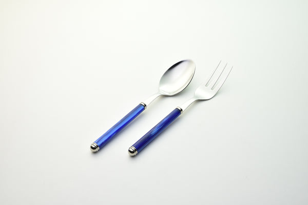 2 Pcs Serving Set Linea Blue