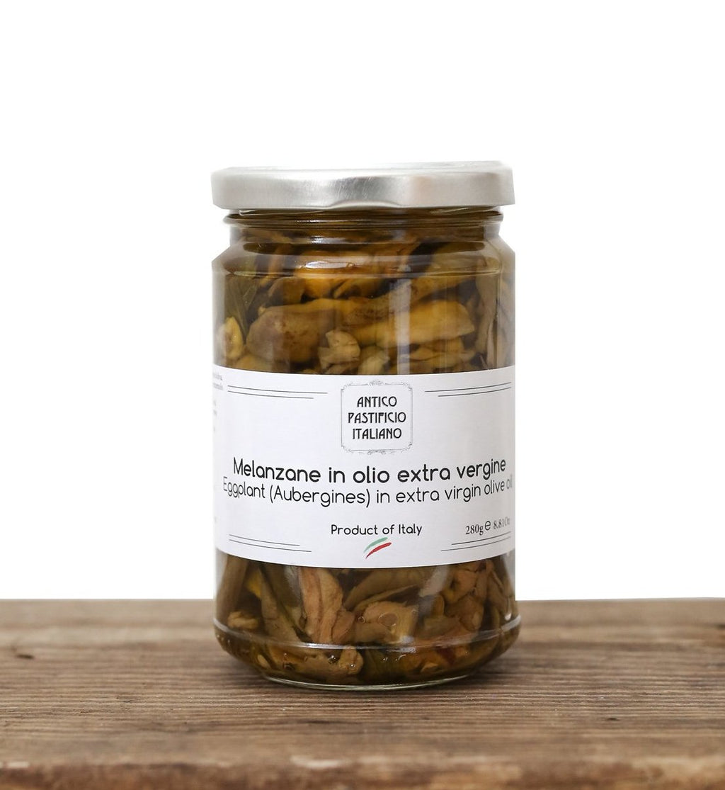 Eggplants in Extra Virgin Olive Oil - API