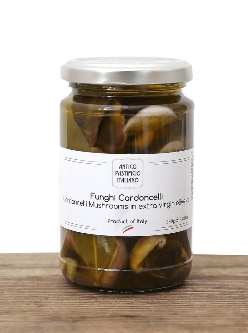 Cardoncelli Mushrooms in Extra Virgin Olive Oil - API