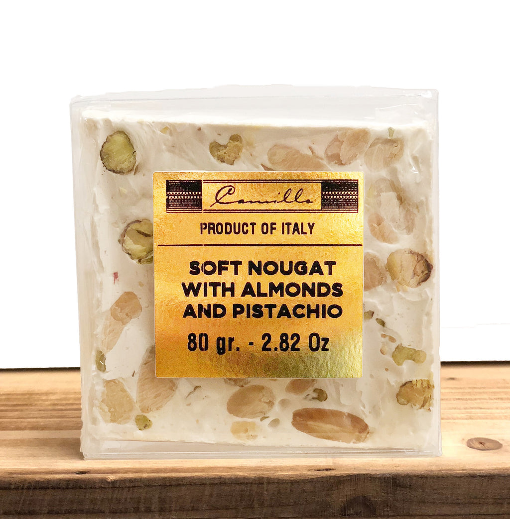 Soft Nougat With Almonds & Pistachio - Camillo