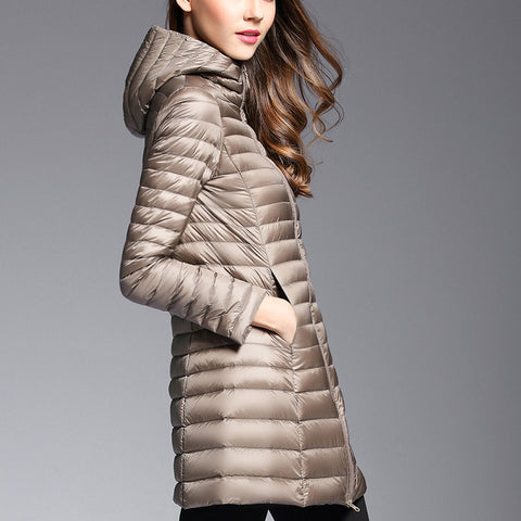 61885 Padded Duck Down Jacket