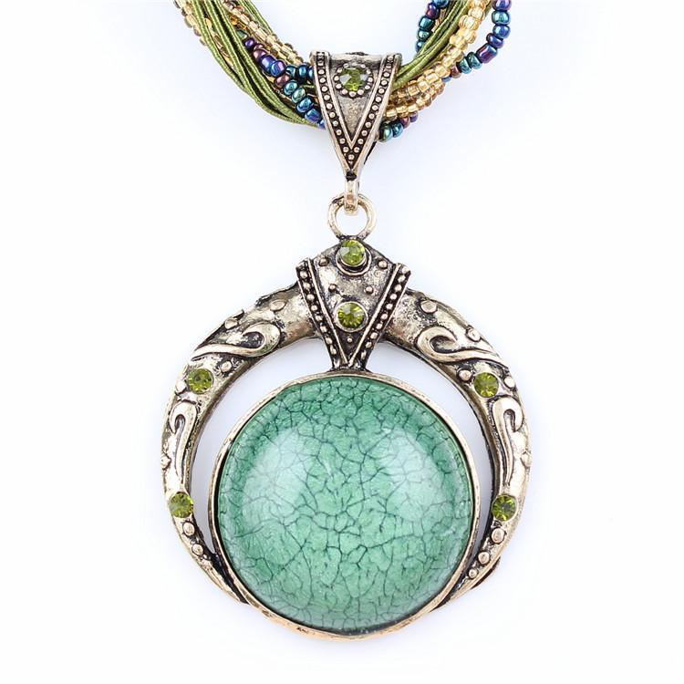 DU Deals Dr Pendant Necklaces Bohemian Vintage Necklace