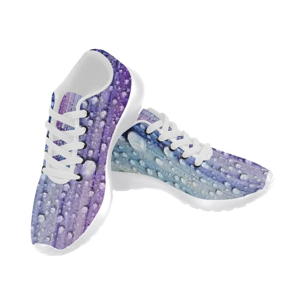 e-joyer Running Shoes (020) galaxy blue violet water drop evolution Women's Running Shoes