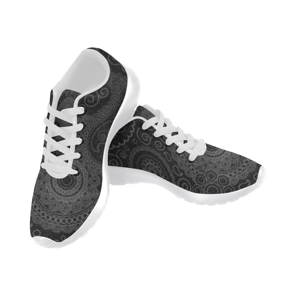 e-joyer Running Shoes (020) hamsa yoga black Women's Running Shoes