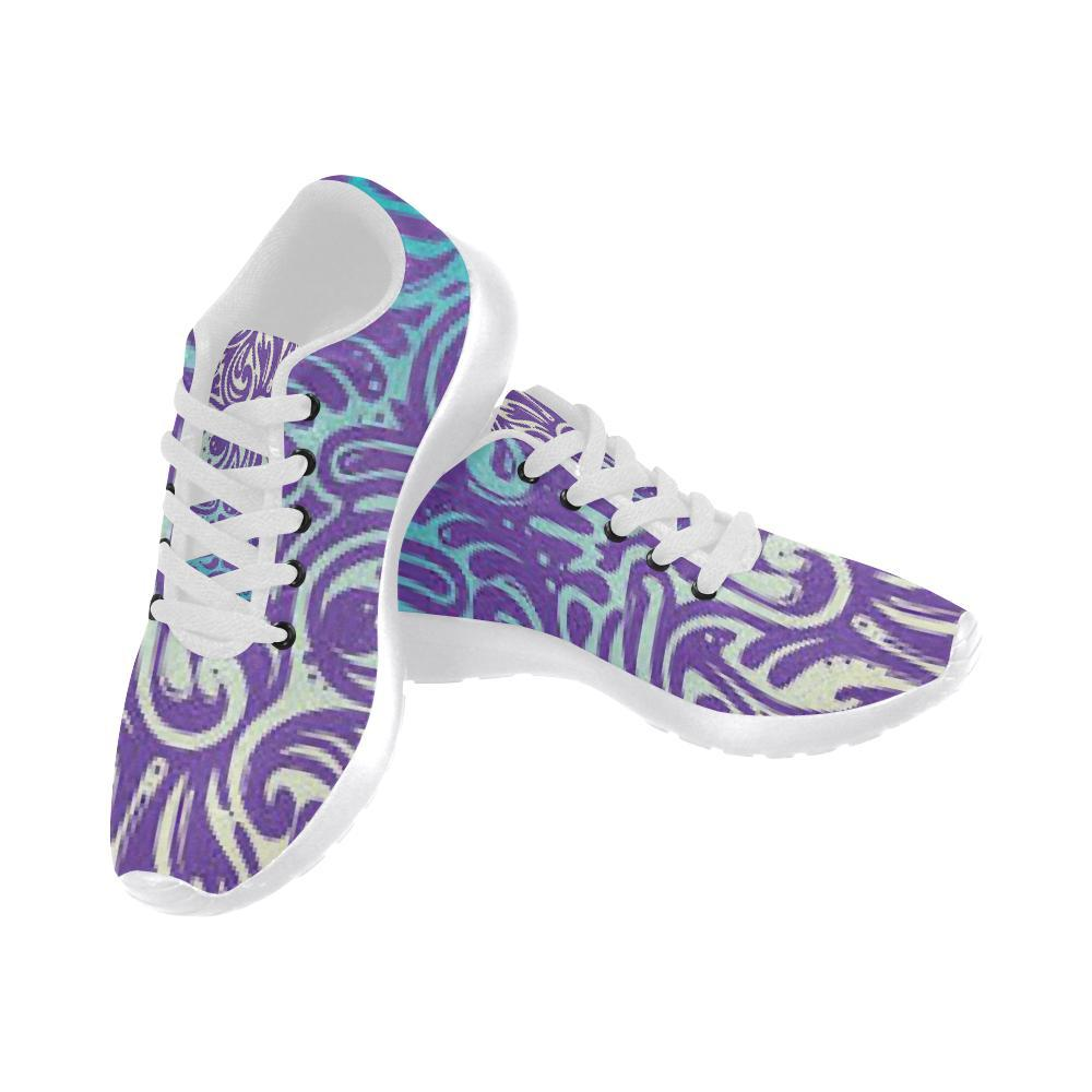 e-joyer Running Shoes (020) hamsa yoga purple art Women's Running Shoes