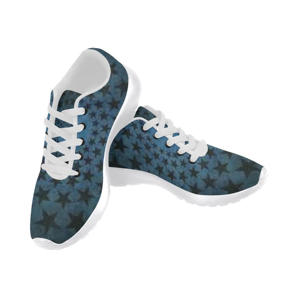 e-joyer Running Shoes (020) nature moksha yoga dark blue circle star Women's Running Shoes