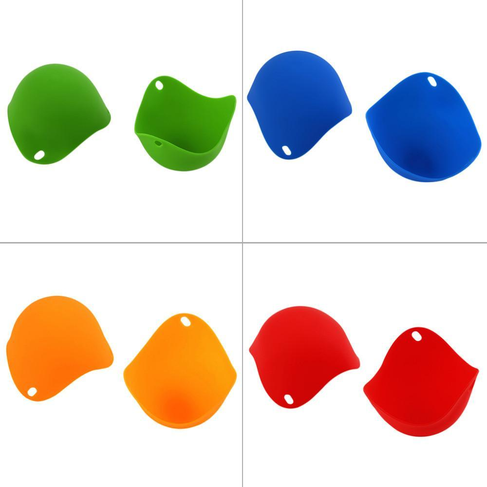 Leading lifestyle store Egg Poachers 2pcs high quality Silicone Egg Poacher