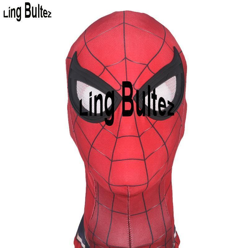 Ling Bultez -High Quality Costume Store Halloween Ling Bultez High Quality Spiderman Homecoming Mask Iron Spiderman Mask Tom Spiderman Mask