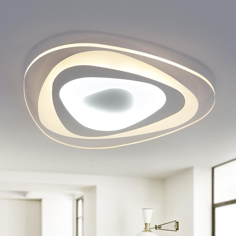 Neo Gleam Cttc Ultrathin Surface Mounted Modern Led Ceiling Chandelier Lights For Living