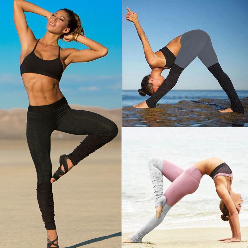 OOHONG Store Elegant Compression Yoga Leggings
