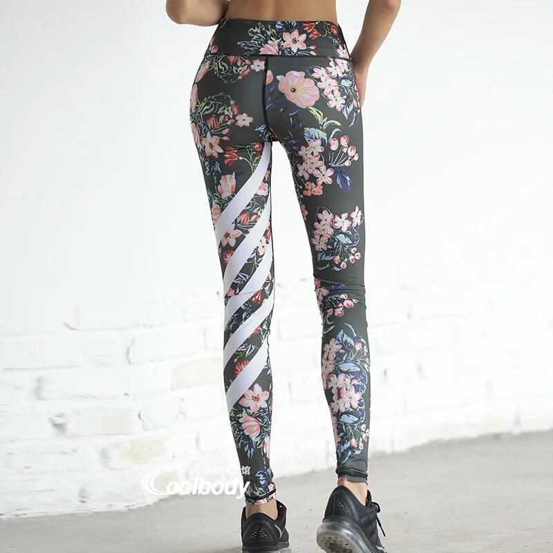 OOHONG Store Super Soft Floral Leggings