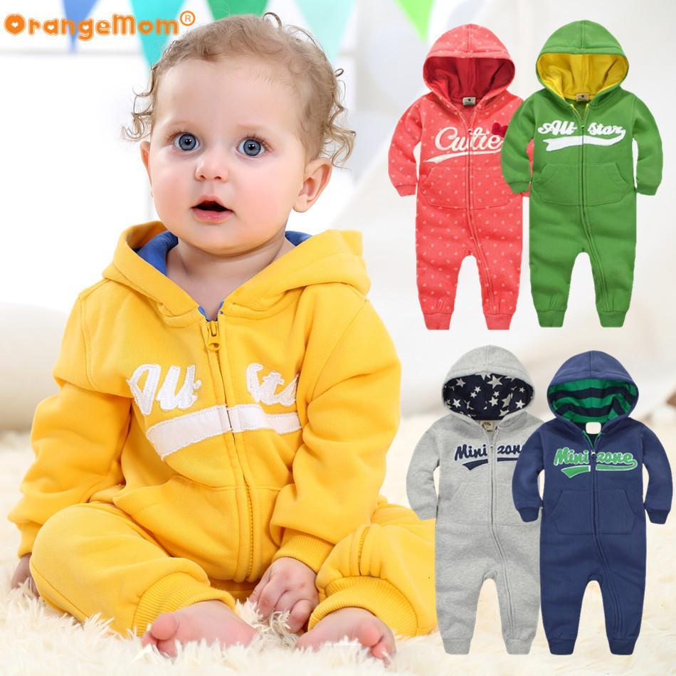 OrangeMom Official Store Rompers 2017 spring Baby  Newborn Cotton tracksuit -hoodie awesome design
