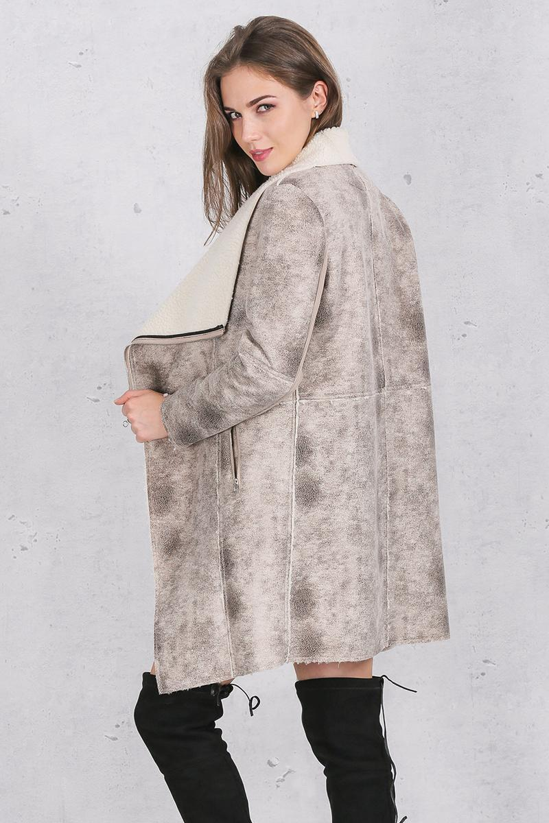 Simplee Apparel Classic Lambswool Coat