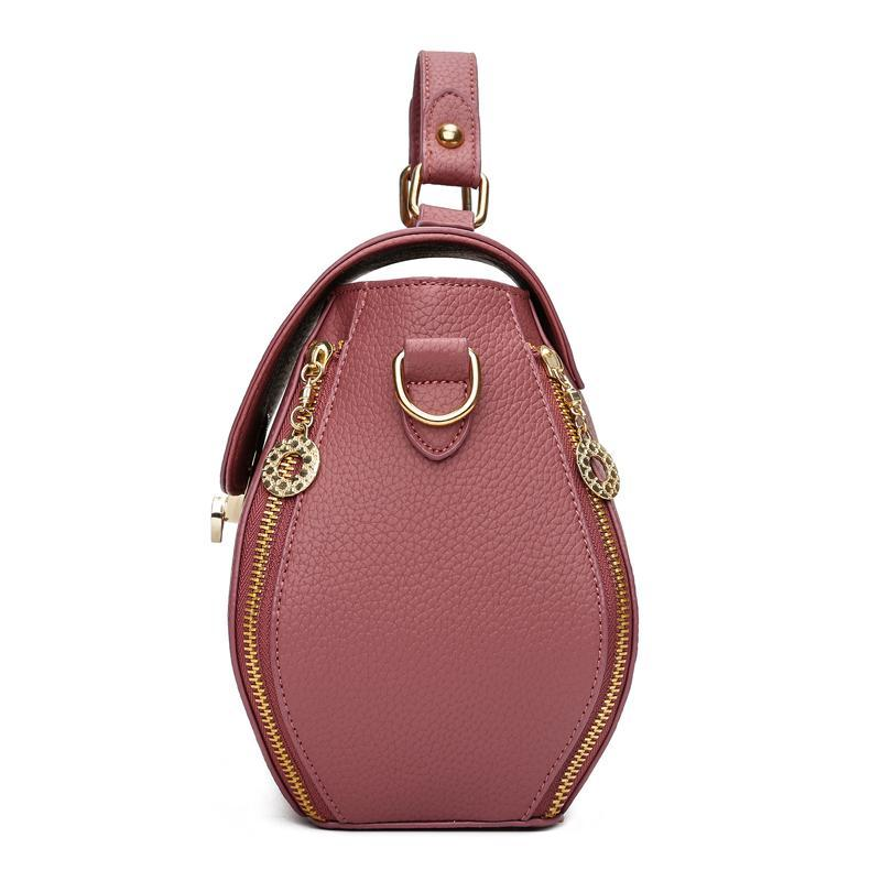 YASICAIDI Franchised Store Renzo Soft Leather Hand Bag(4 Colors)