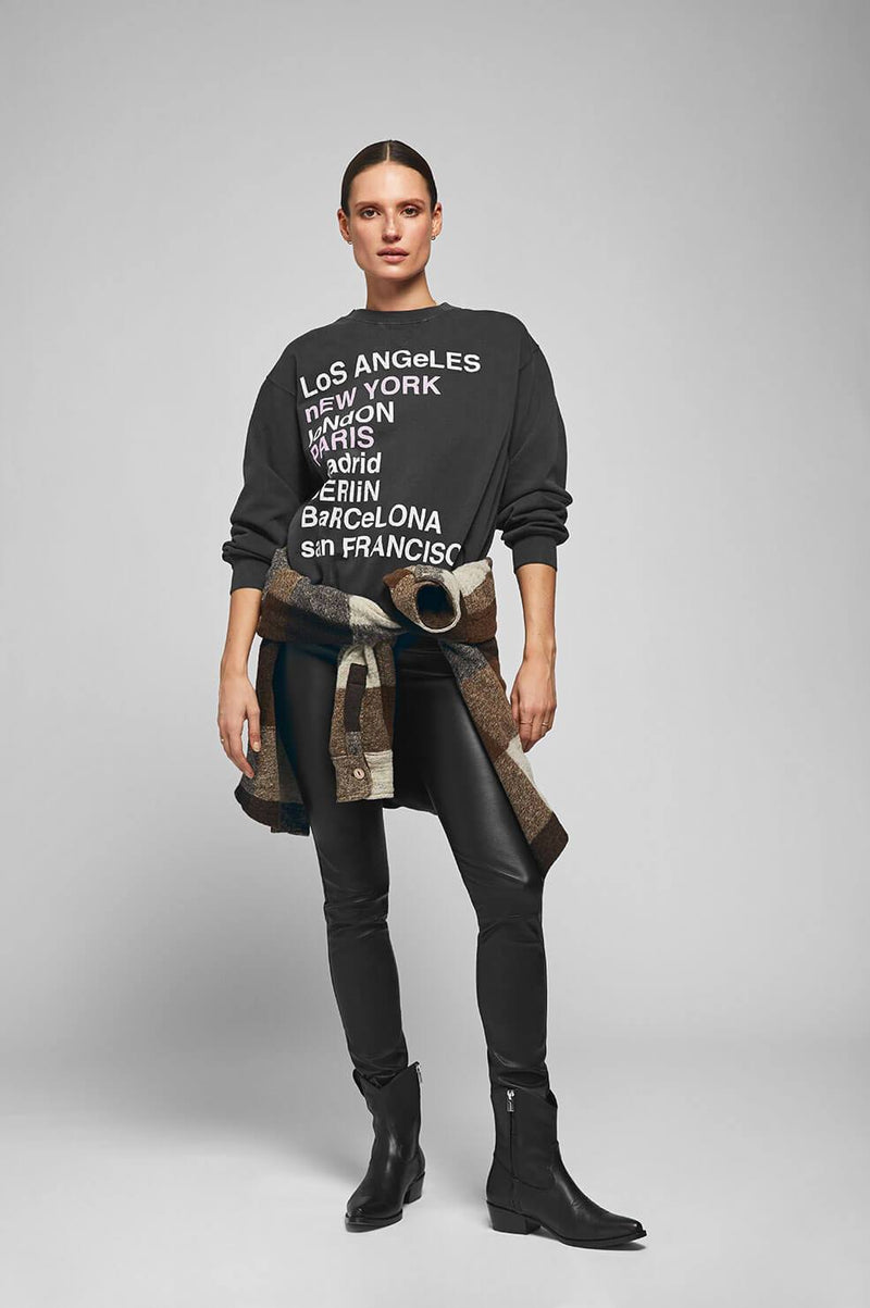 City Love Sweatshirt by Anine Bing