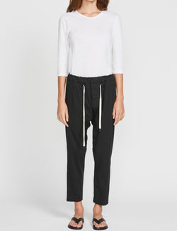 Double Jersey Relaxed Pant II in Deep Ink