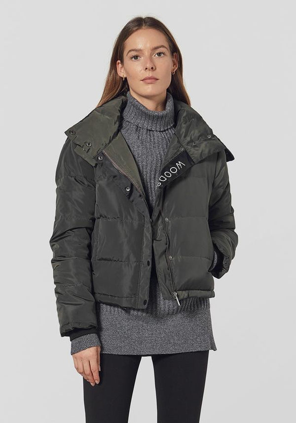Ransom Puffer in Olive by Viktoria + Woods