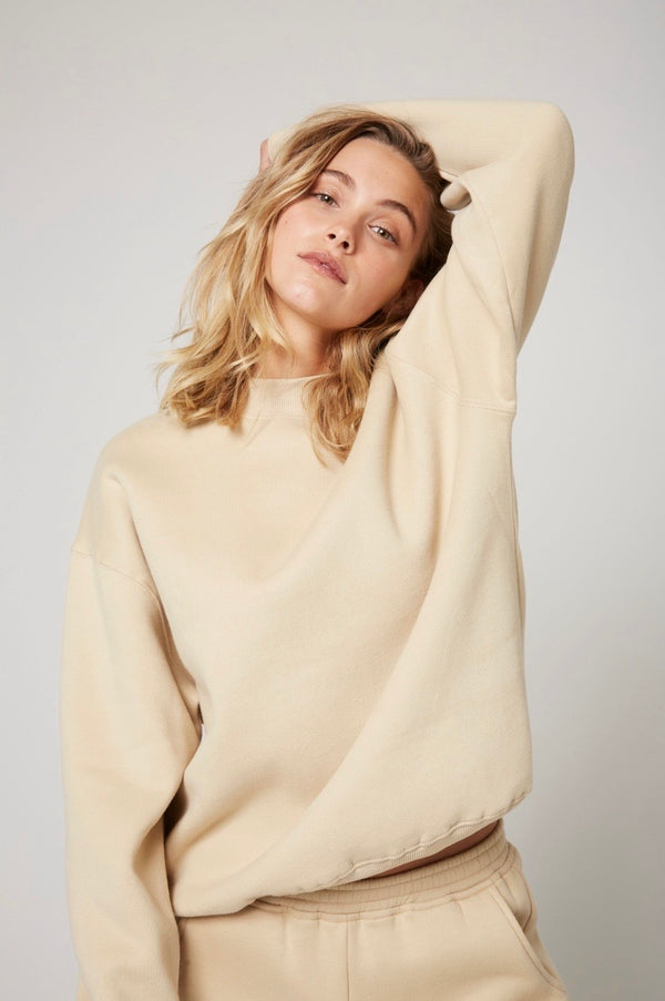 The Crew Neck in Oatmeal