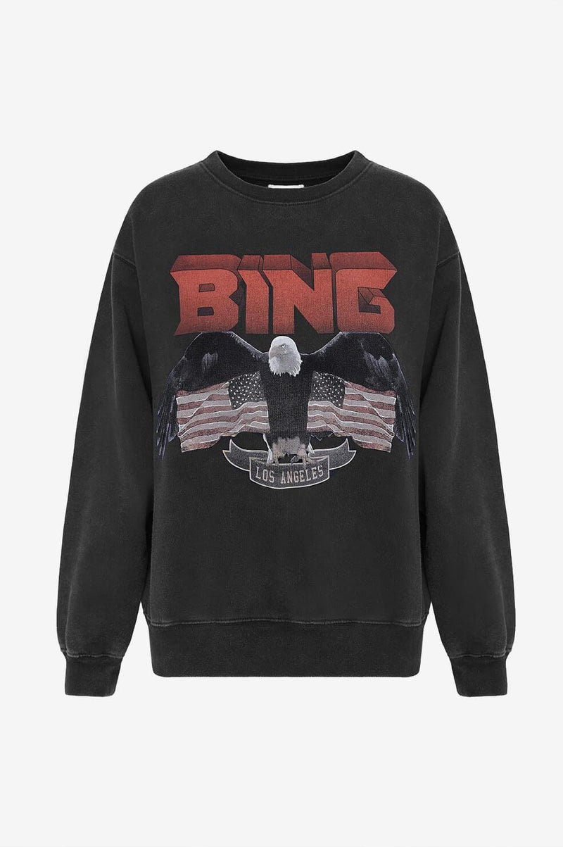 Vintage Washed Sweatshirt by Anine Bing