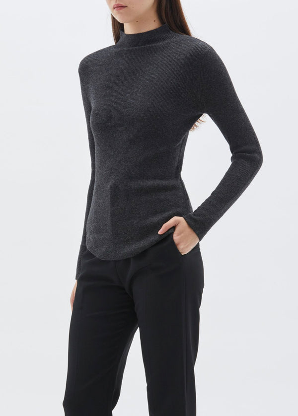 Roll Neck Layering Knit by Bassike
