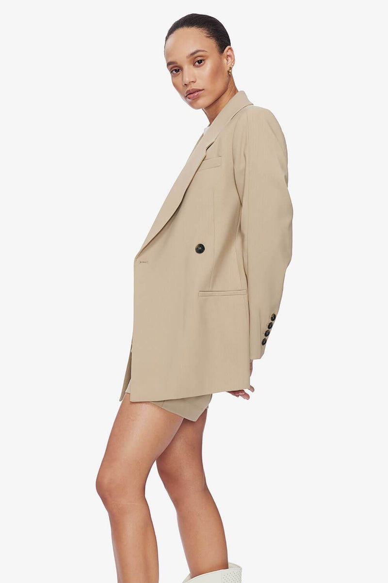 Kaia Blazer in Sand by Anine Bing