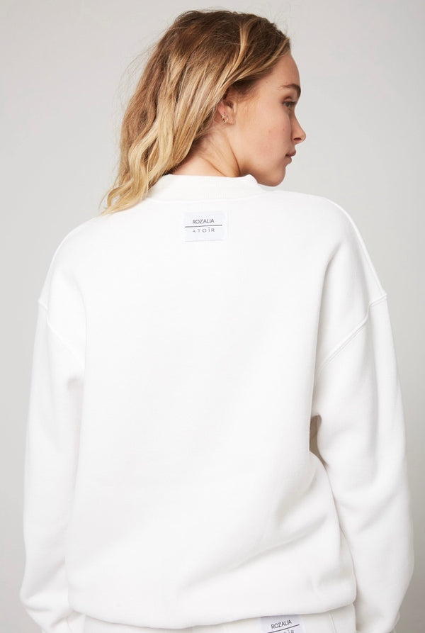 The Crew Neck in White