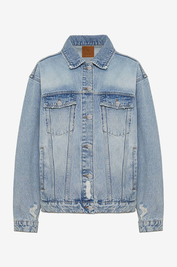 Rory Jacket in Vintage Blue by Anine Bing - PRE ORDER