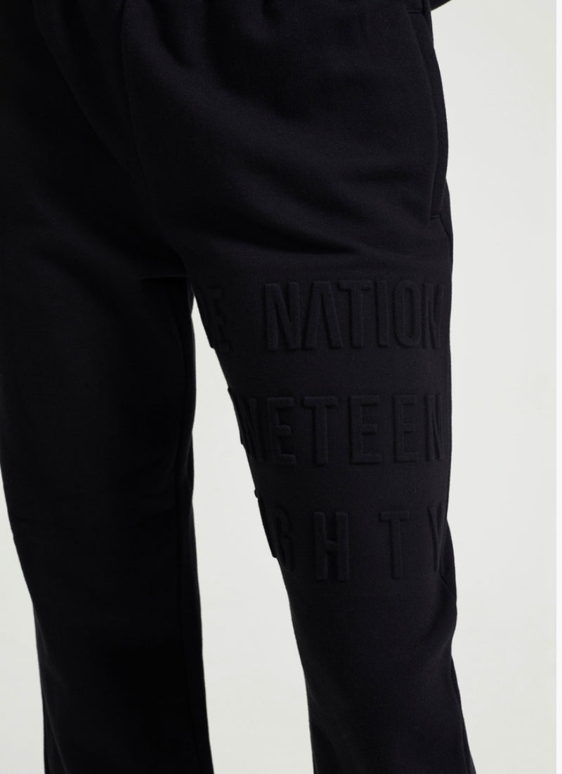 Power Play Trackpant in Black by P.E Nation