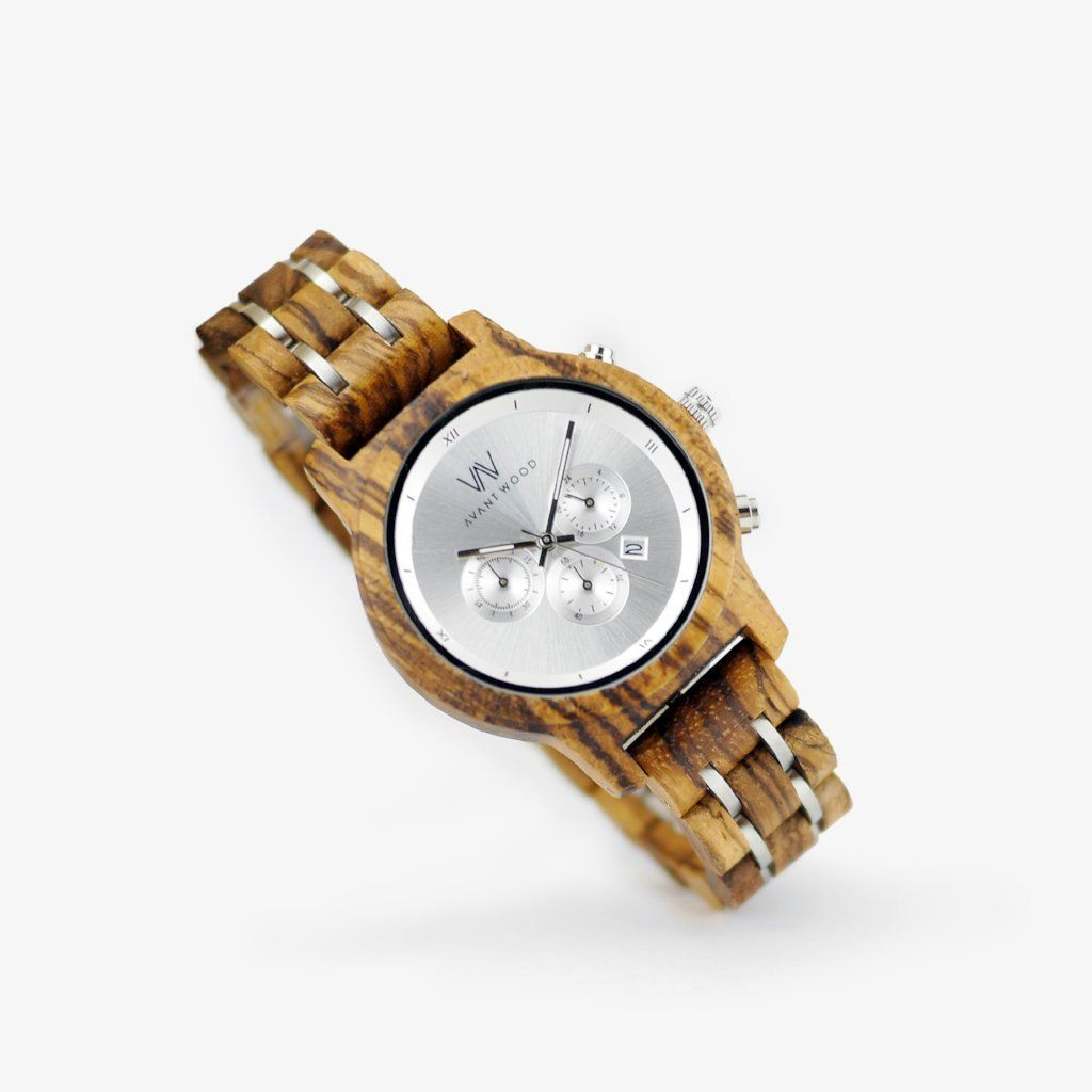 minimalist women's wood watch