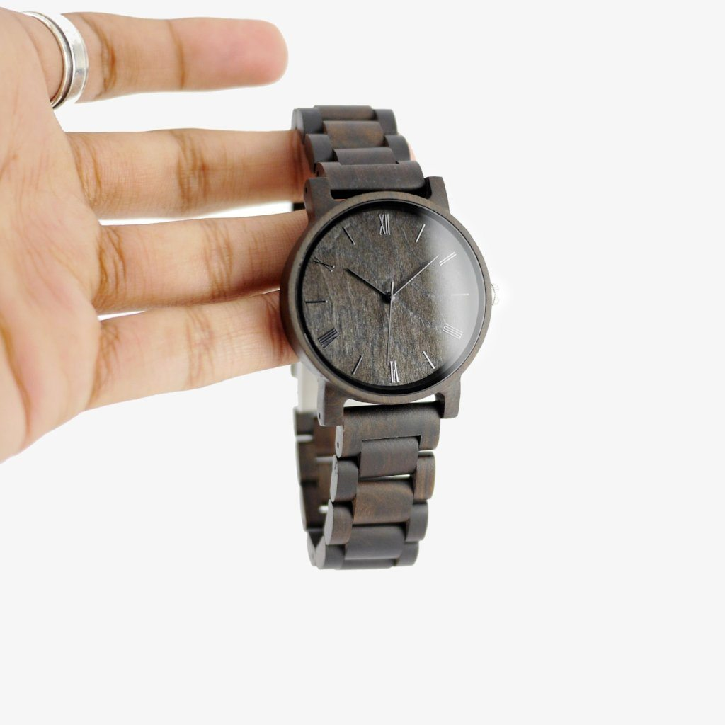 minimalist wooden watches for men