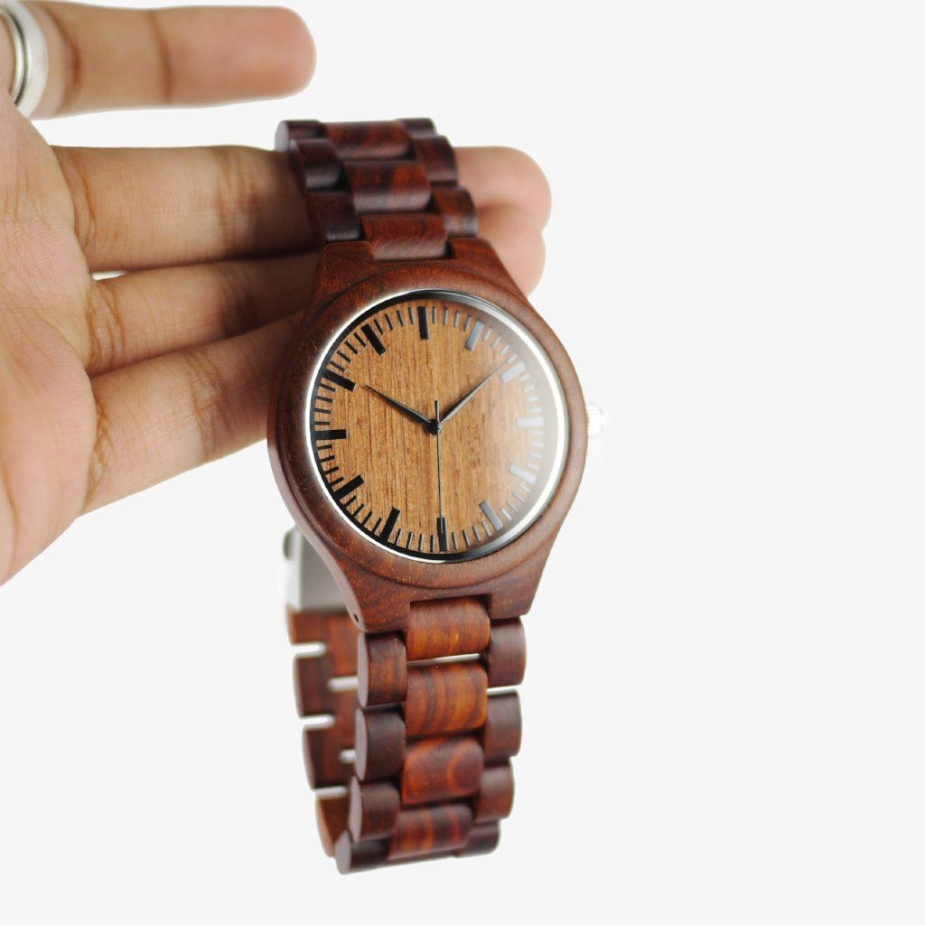 beautiful wood watch