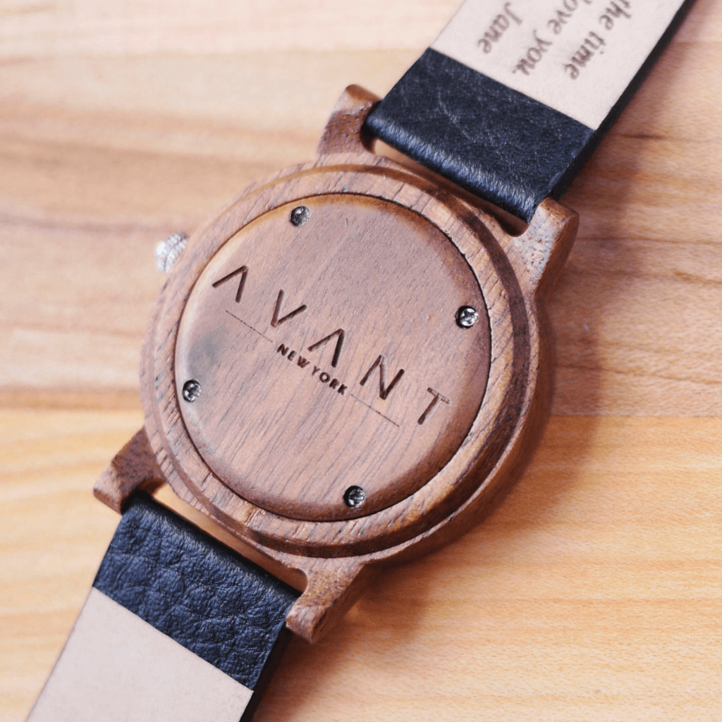 handcrafted wood watch