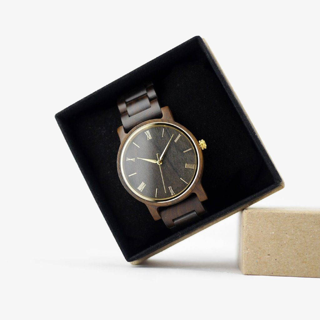 simple wood watches for men