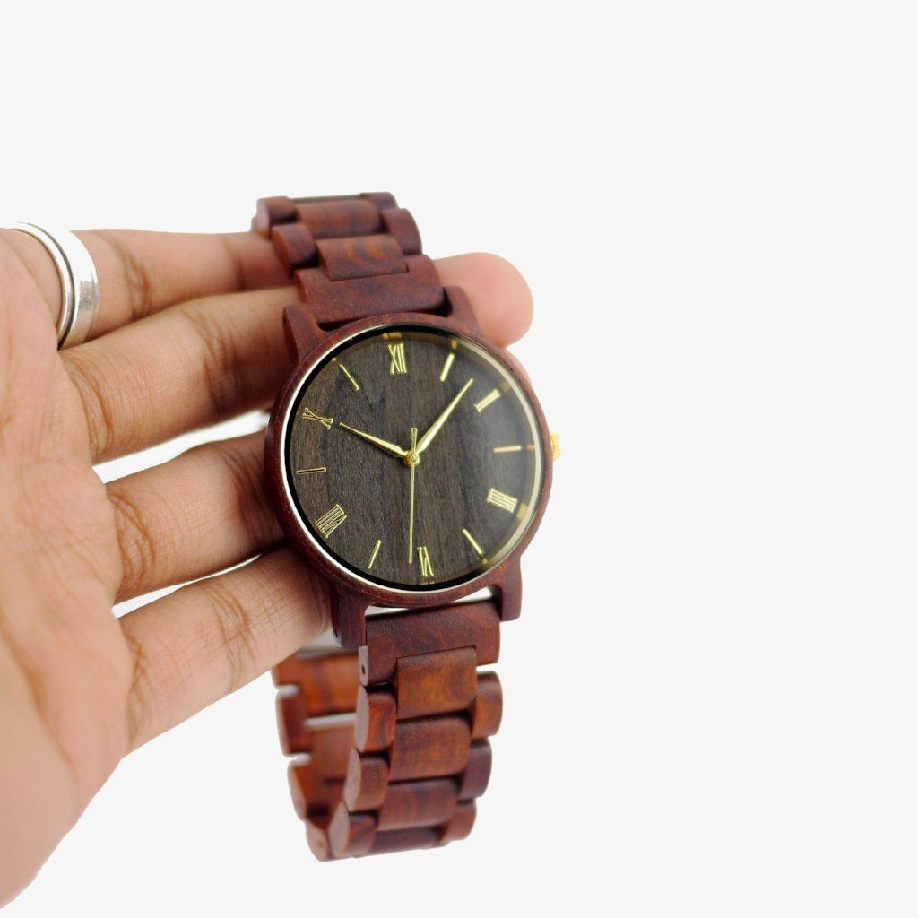 handcrafted minimalist wood watches